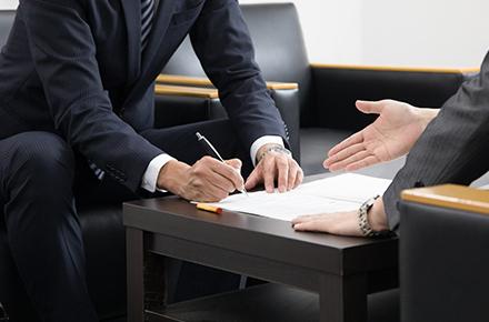画像:借主への交渉・お見積提出の画像